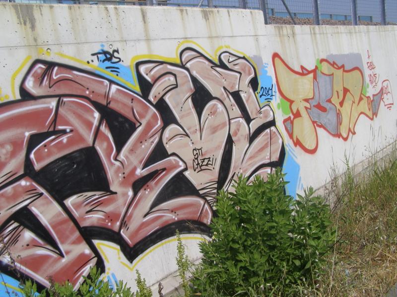 graffiti murales writers