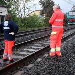 suicidio binari treno