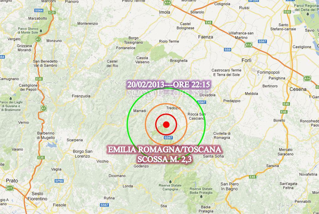 terremoto tredozio