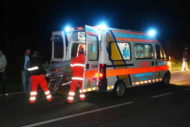 ambulanza 118 notte