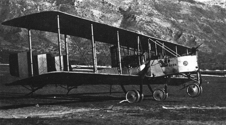 bombardiere Caproni della I° Guerra Mondiale