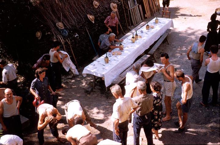 cena festa contadina