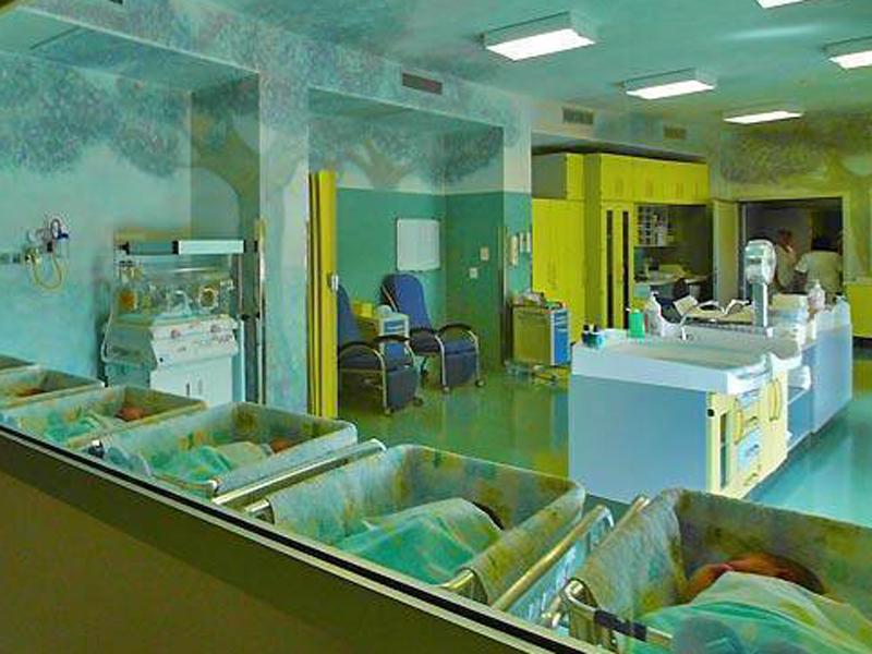 nursery ospedale neonati