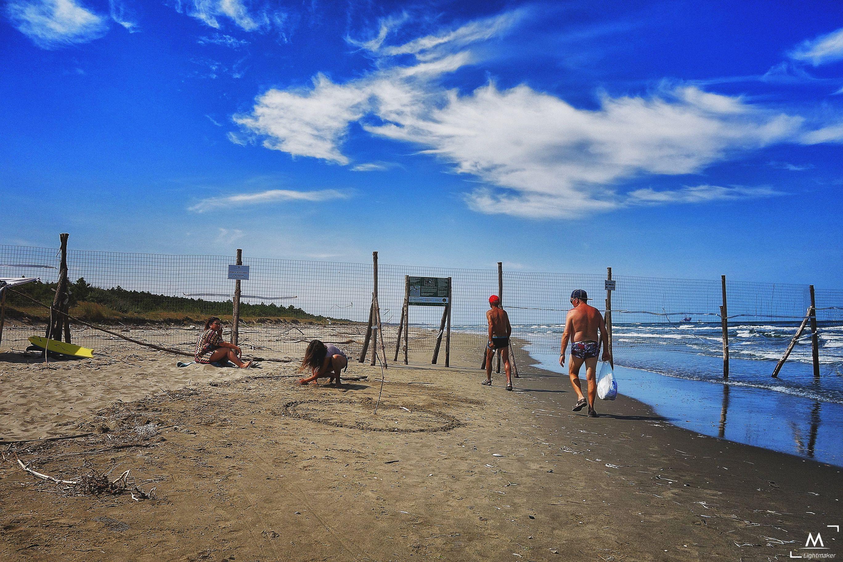 Bassona spiaggia mare