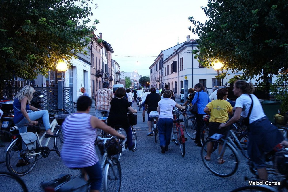 bicicletta pedalata