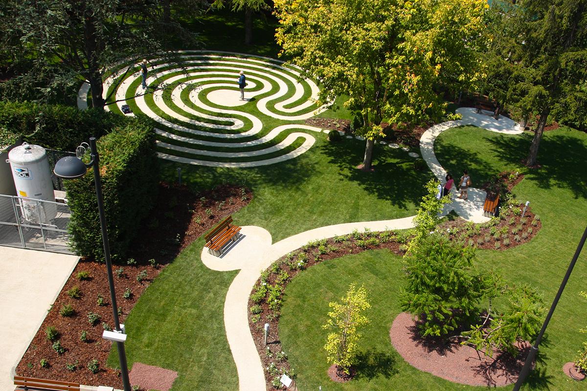 Inaugurato il giardino del labirinto irst for Giardino labirinto