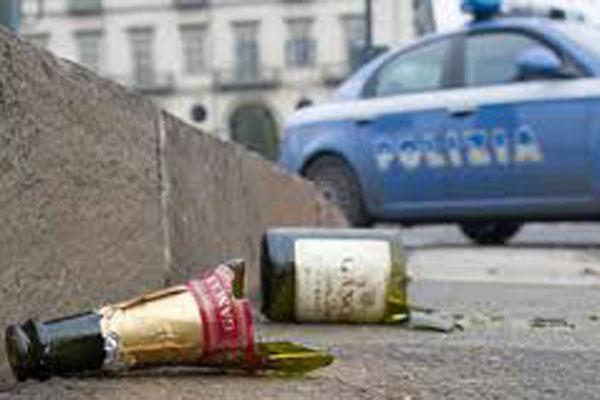 Stop alla vendita di bevande in bottiglie di vetro nelle manifestazioni pubbliche