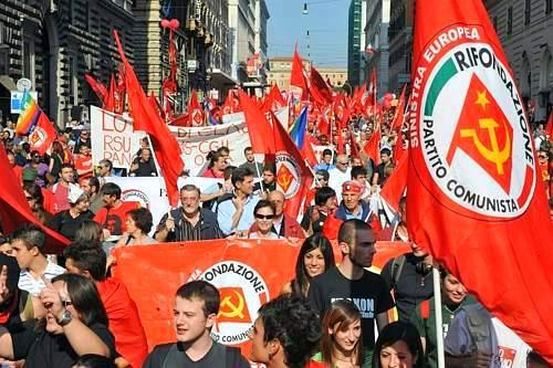 sciopero rifondazione