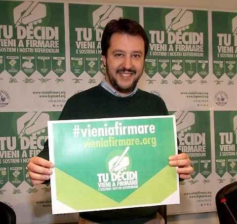 Salvini Lega Nord