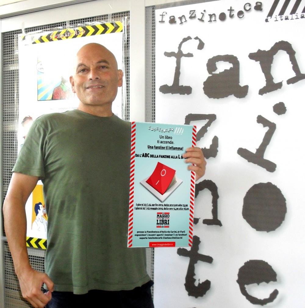 Fanzinoteca d'Italia Il Maggio dei Libri 2014 e l'esperto fanzinotecario