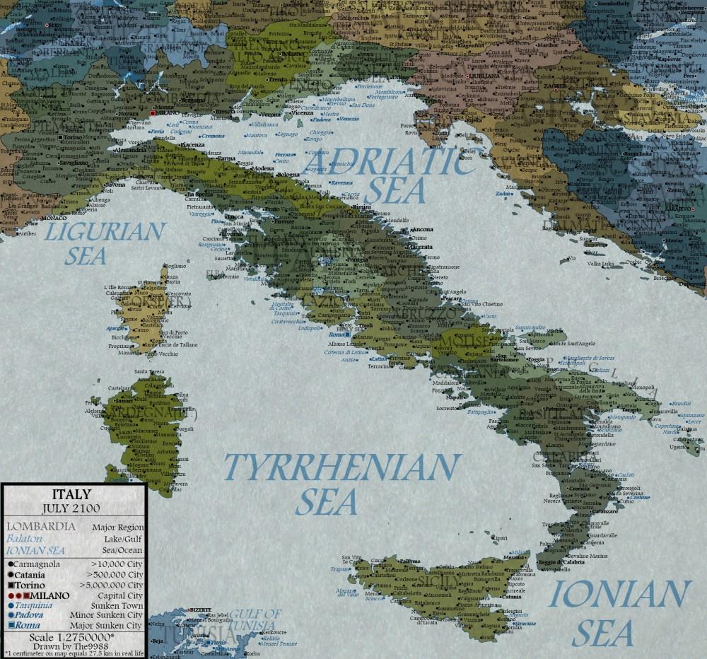 Italia nel 2100