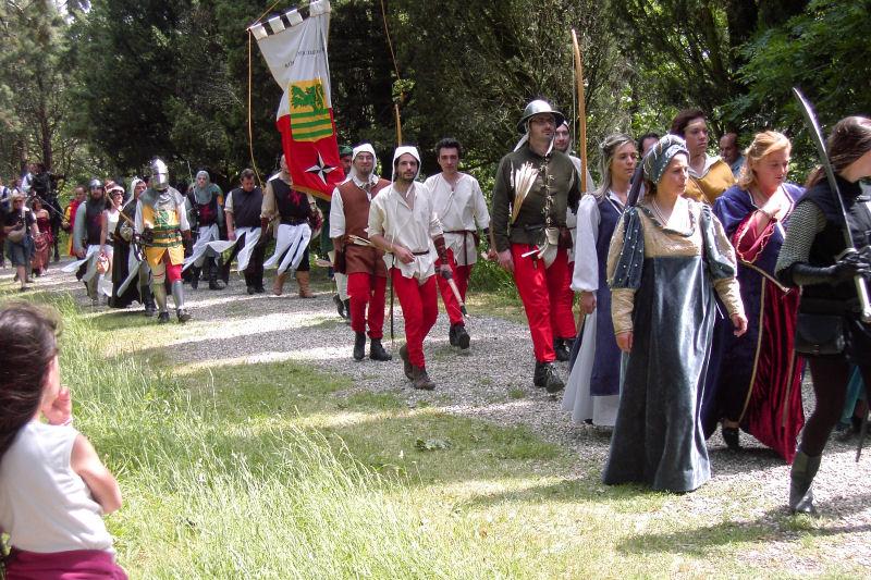 Festa Medievale 8 castelli Rocca delle Caminate
