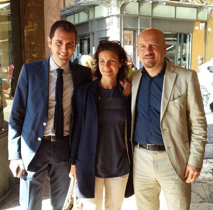 Marco Di Maio, Alessandra Moretti, Davide Drei