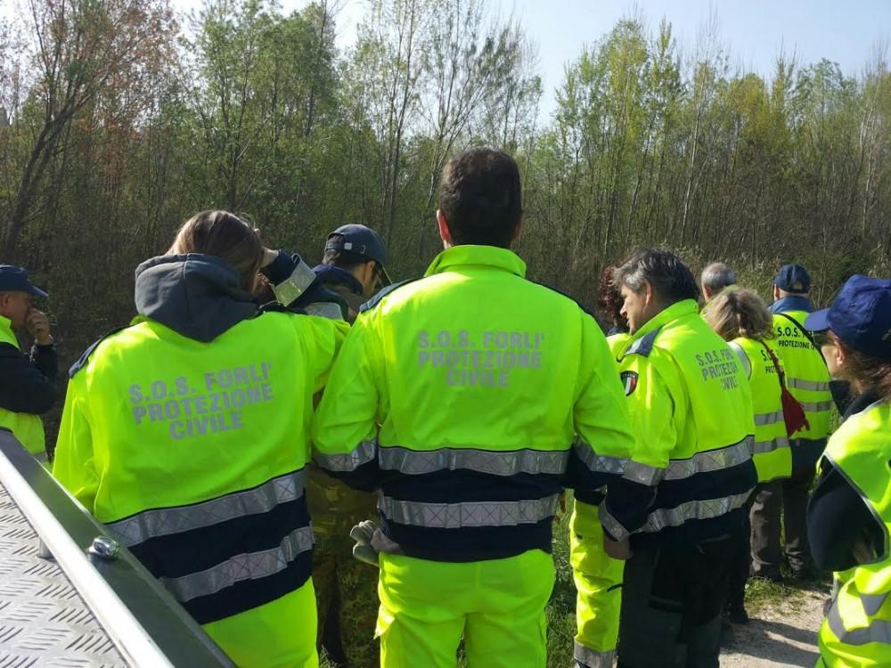 protezione civile Forlì