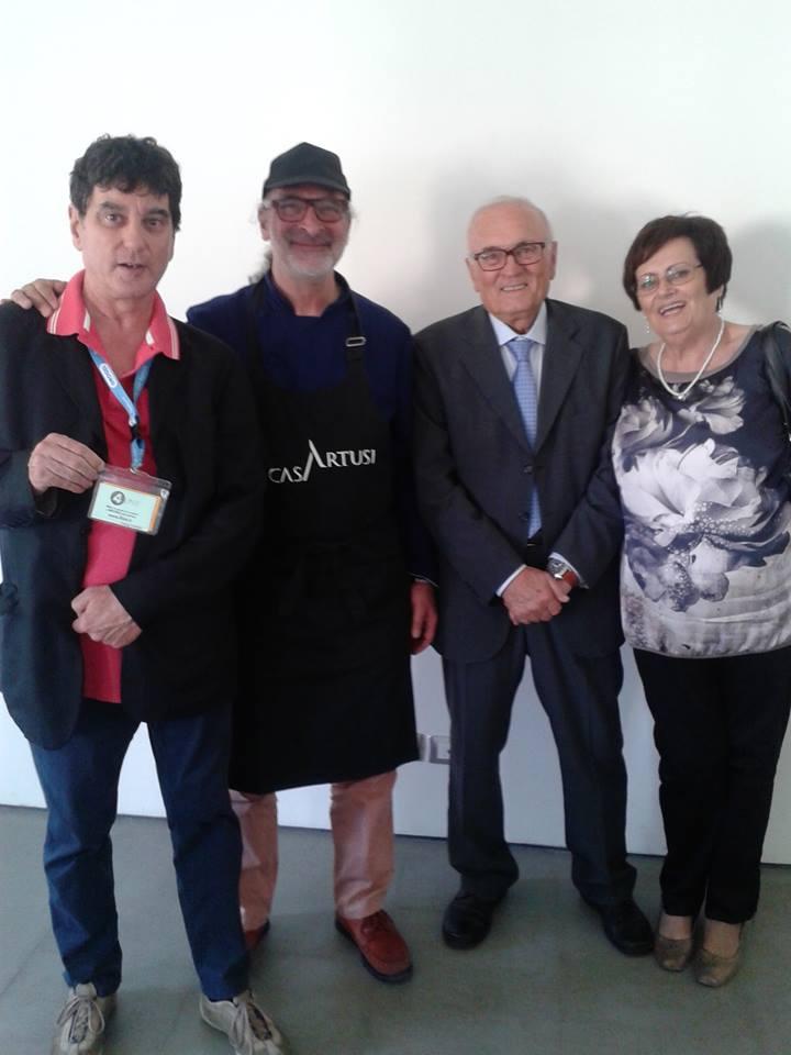 Andy Luotto e famiglia Mambelli