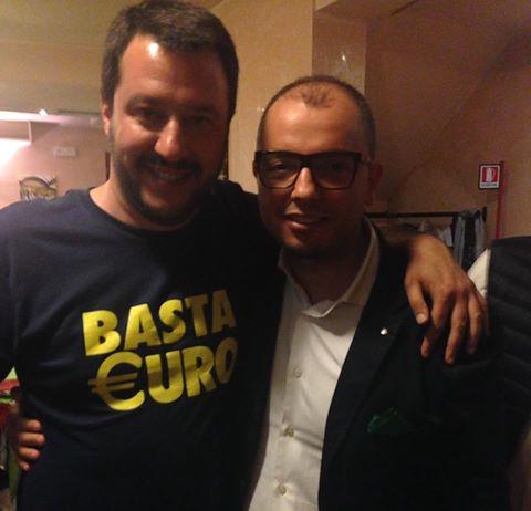 Mezzacapo e Salvini Lega Nord
