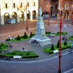 Piazza Saffi di Forlì foto Maicol Cortesi