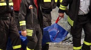vigili del fuoco morto pompieri