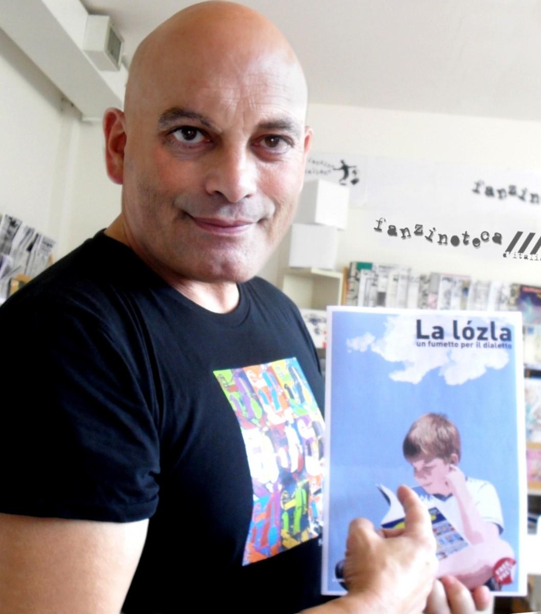 Fanzinoteca d'Italia l'Esperto Fanzinotecario Gianluca Umiliacchi con La lòzla