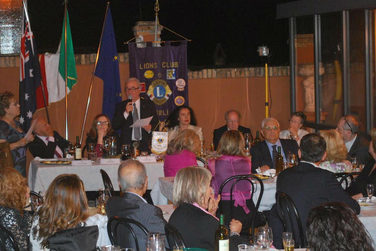 riunione lions Forlì