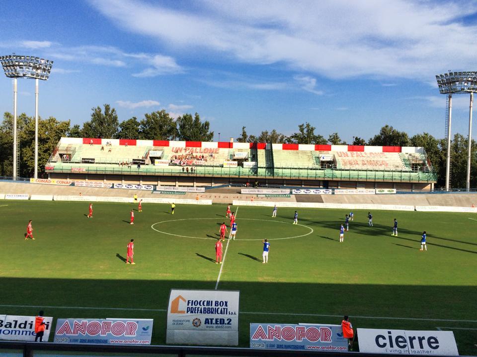 Forlì-San Marino coppa Italia Lega Pro 2014