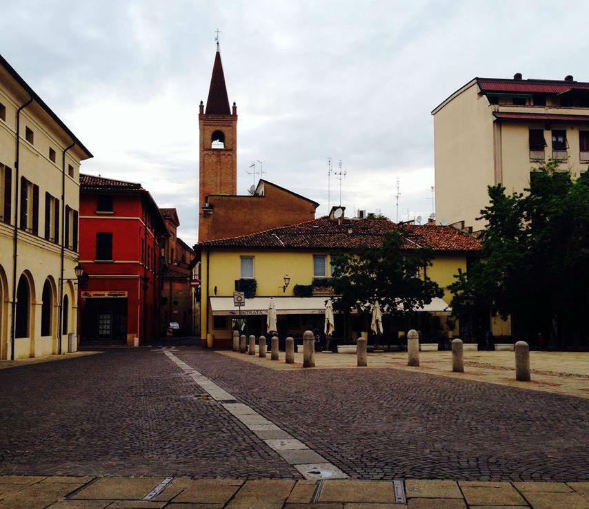 piazza della Misura Forlì