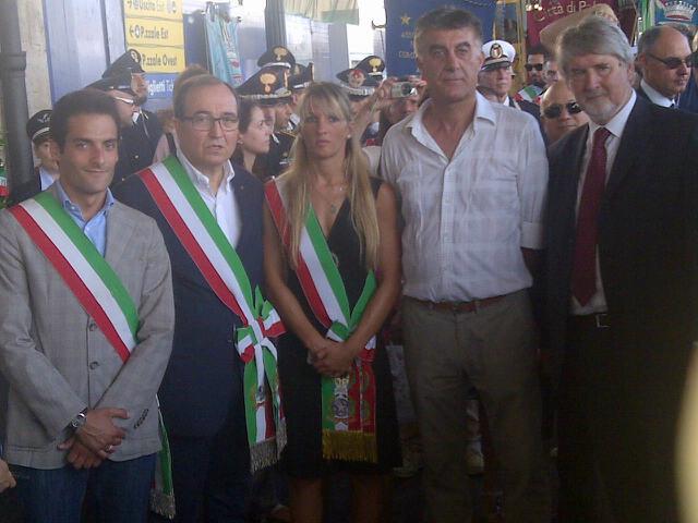autorità forlivesi alla commemorazione strage Bologna