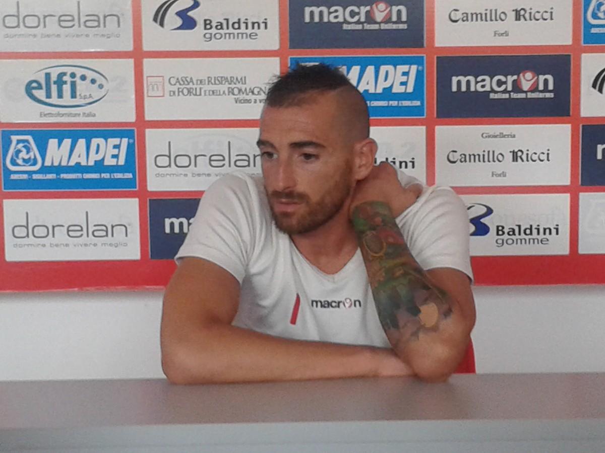 Alessandro Scotti portiere Forlì Calcio