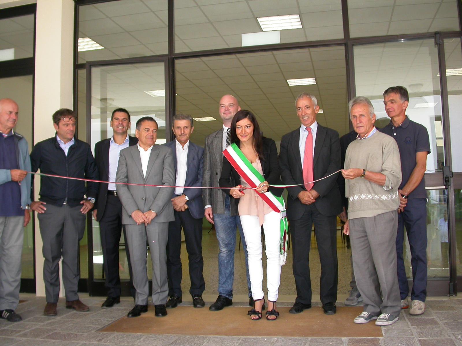 Inaugurazione scuola elementare Galeata