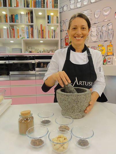 Carla Brigliadori per l'Artusi in Tv