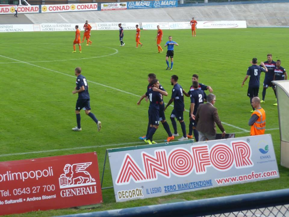 Forlì Calcio esultanza