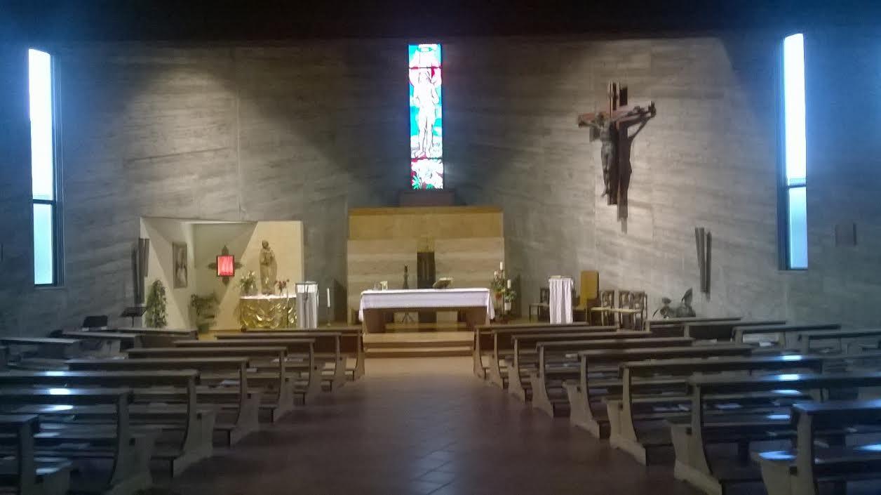 chiesa Capocolle San Giovanni Paolo II