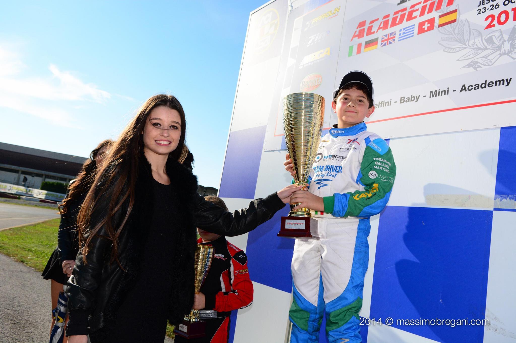 Matteo Nannini campione GoKart