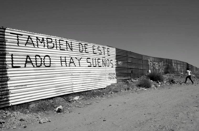 muro di confine tra Messico e Usa