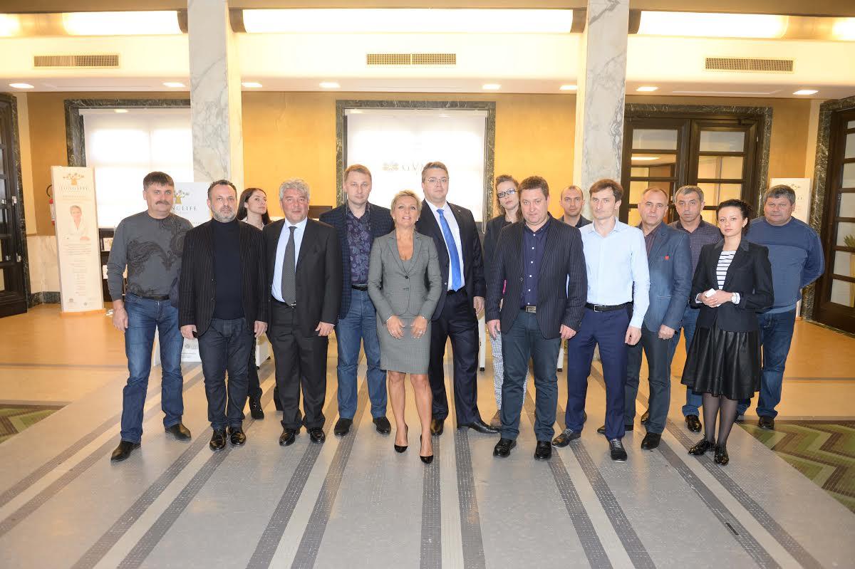 delegazione russa a Castrocaro