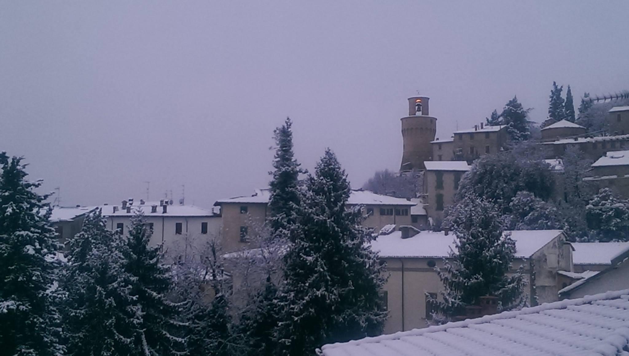 castrocaro neve