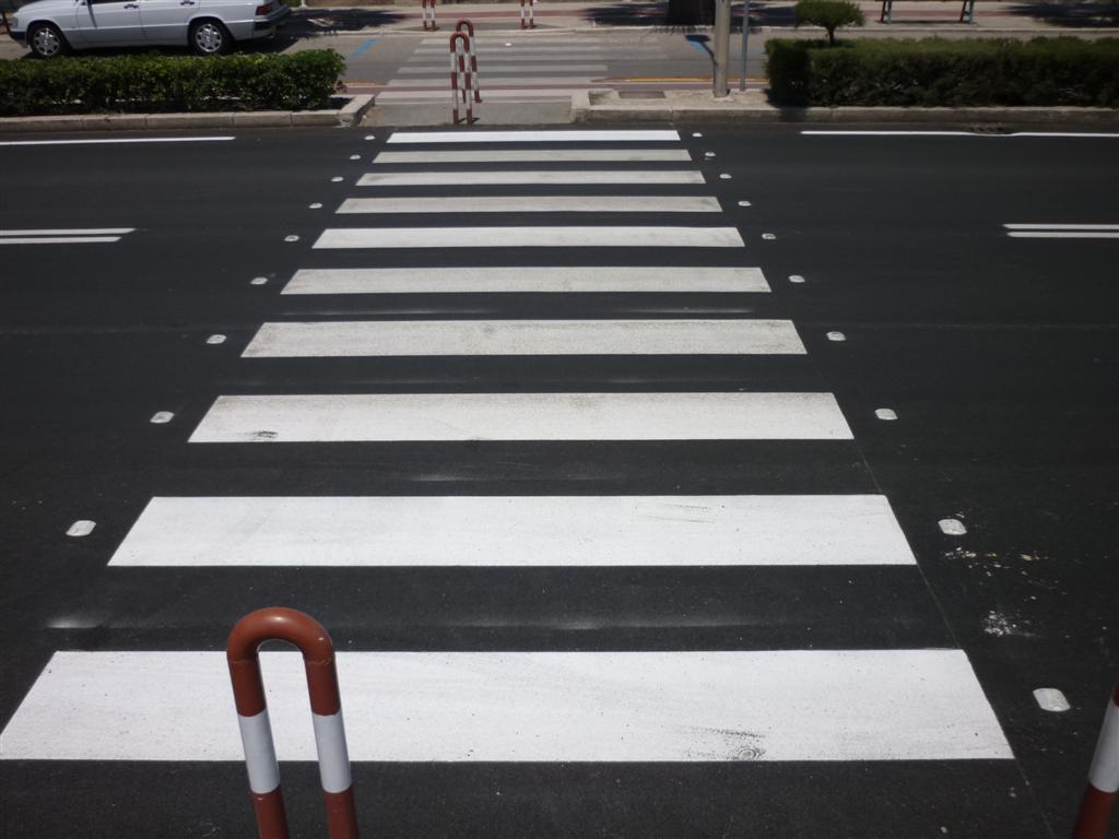 striscie attraversamenti pedonali