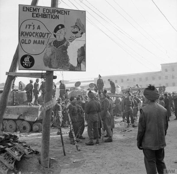 inglesi a Forlì liberazione