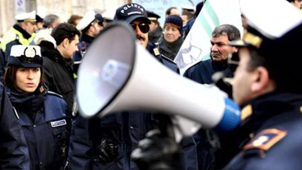 sciopero Polizia Municipale