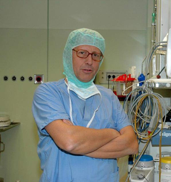 Professore otorinolaringoiatria Claudio Vicini