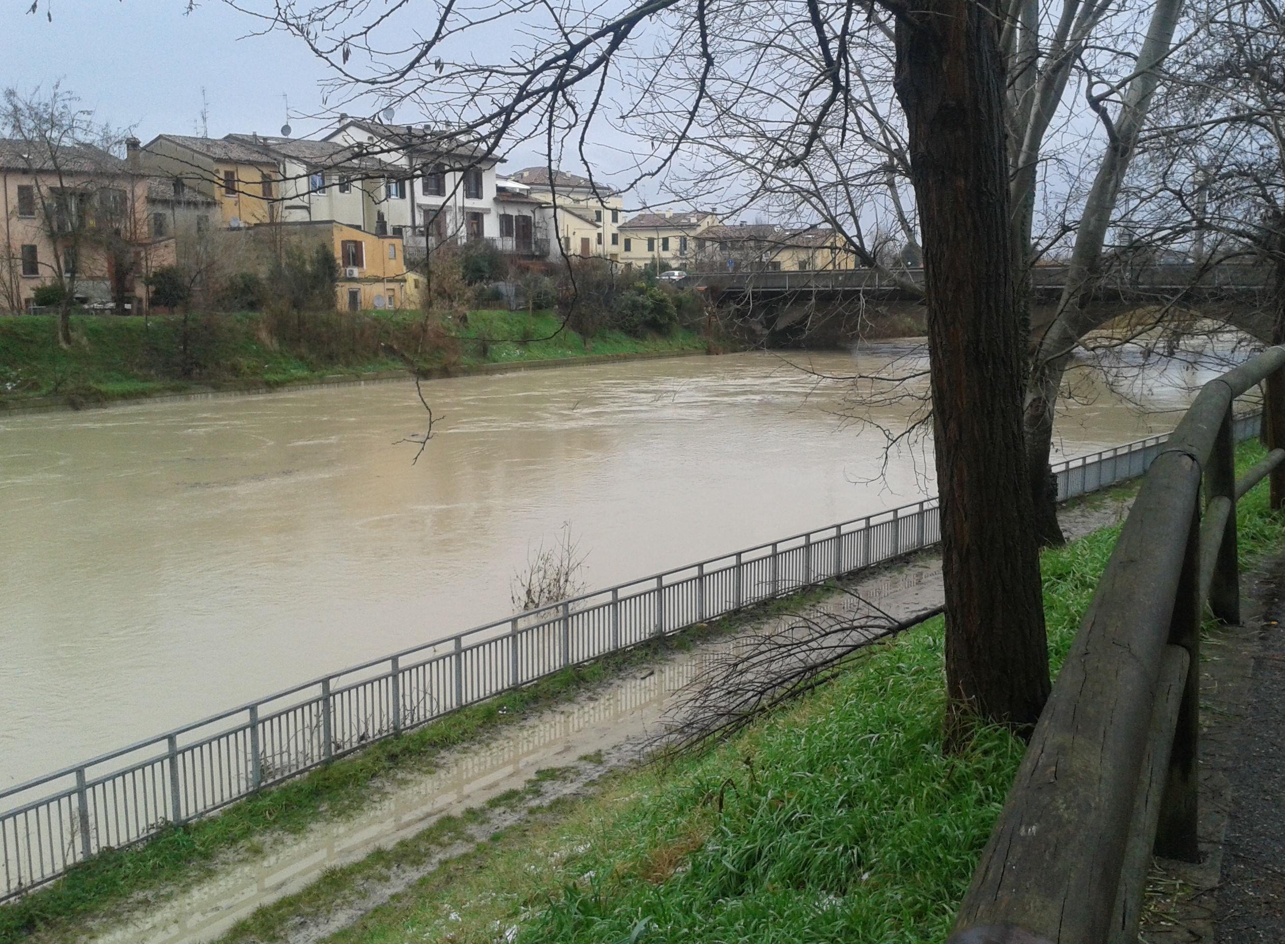 allagamento fiume montone