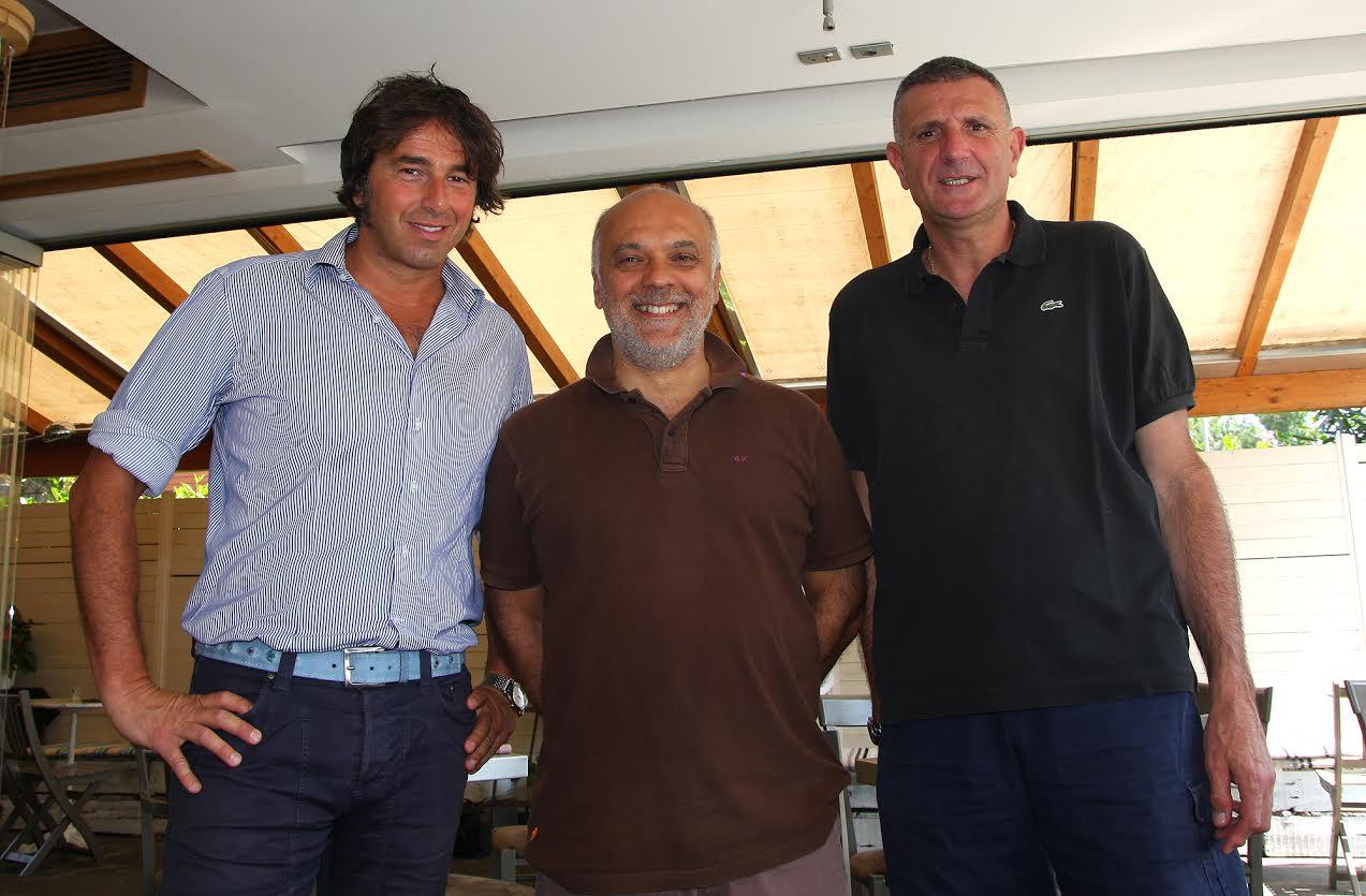 Riccardo Girardi, Gigi Garelli e Geremia Giroldi