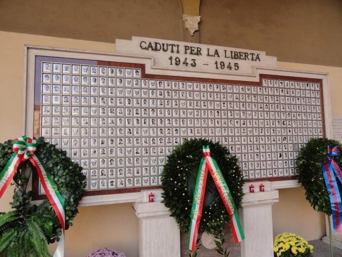 Sacrario ai Caduti in piazza Saffi a Forlì