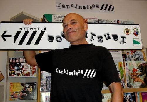 l'esperto fanzinotecario Gianluca Umiliacchi
