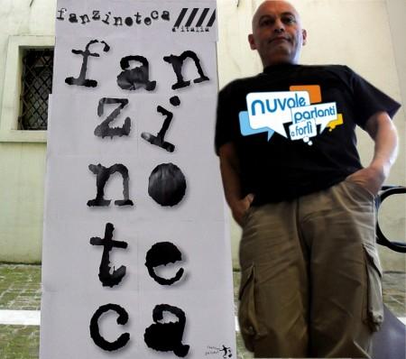 Fanzinoteca d'Italia Nuvole Parlanti a Forlì 2011 fanzinotecario Umiliacchi
