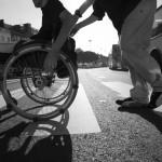 invalidi invalido sedia rotelle