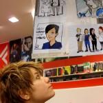 Sara SaX Guidi Personale alla Feltrinelli di Cesena 2012