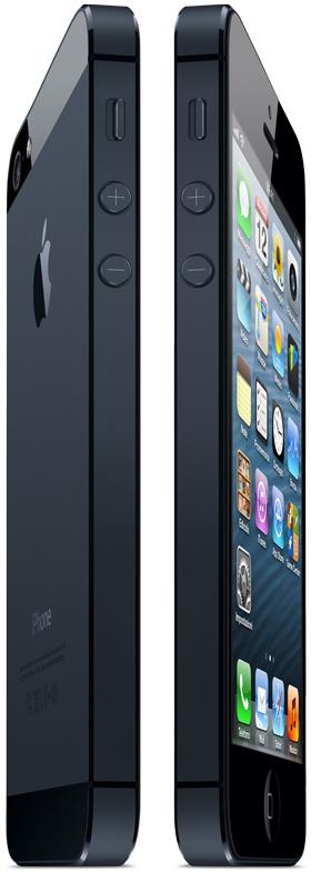 iPhone 5 fronte e retro