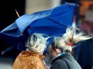 pioggia vento forte